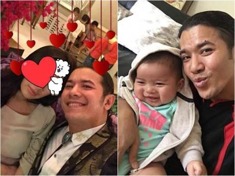 Sau khi công khai con đầu lòng, Kasim Hoàng Vũ còn úp mở hình ảnh mẹ của bé?