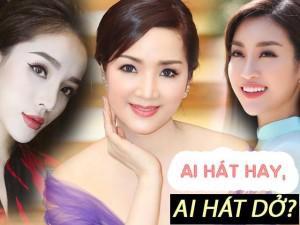 Bất ngờ với khả năng ca hát của các Hoa hậu Việt nổi tiếng: Ai hay nhất?