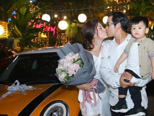 Chỉ sau một lần tâm sự, Ngọc Lan được chồng bỏ cả tỷ mua xe hơi tặng sinh nhật