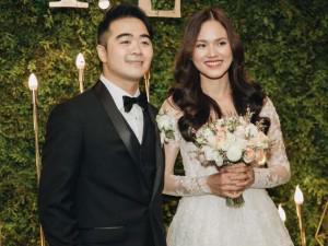 Cận cảnh đám cưới đẹp như mơ của người mẫu Tuyết Lan và doanh nhân điển trai