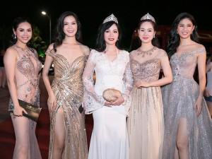 Đây đích thị là thảm đỏ xuất hiện nhiều Hoa hậu, Á hậu nhất Việt Nam!
