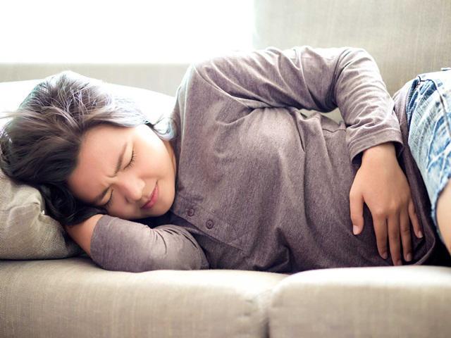 vi sao me bau bi dau bung khi mang thai thang thu 2? - 3