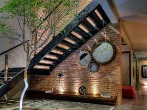 12 mẫu cầu thang sắt đẹp sáng tạo cho ngôi nhà thêm độc đáo