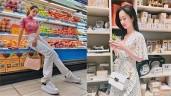 """Không nghi ngờ gì nữa, siêu thị chính là """"thánh địa"""" thời trang mới của sao Việt"""