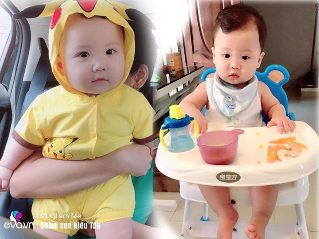 Mẹ 9X nuôi con kiểu Singapore: Thực đơn toàn rau xanh và hoa quả, con vẫn béo trắng bụ bẫm