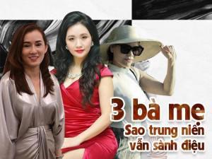 Mẹ từng bán xôi của Angela Phương Trinh đã sành điệu, 2 bà mẹ Sao này cũng không hề kém