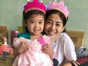 Làm mẹ - Sinh nhật đặc biệt của con gái Mai Phương trong bệnh viện cùng mẹ