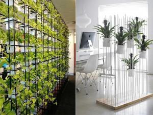 Thay tường ngăn bí bách bằng những kiểu vách ngăn cây này, bạn sẽ thấy điều kì diệu