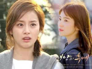Kim Tae Hee chưa trở lại chính thức sau sinh đã bị so sánh phũ phàng với Song Hye Kyo