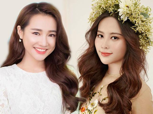 Cùng để chung kiểu tóc nữ thần, Nam Em - Nhã Phương ai đẹp hơn ai?