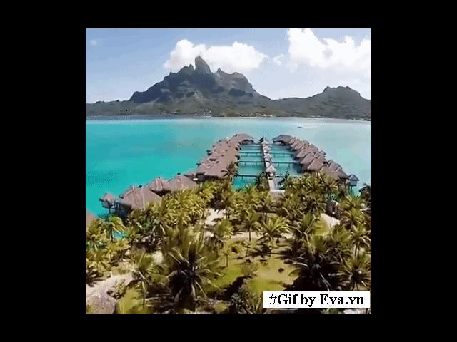 Có một thiên đường có thật đẹp không kém Maldives, vạn cô gái khát khao muốn đến!