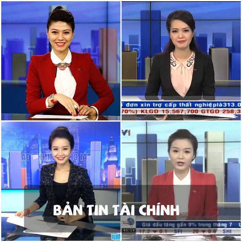 Các cô gái của Bản tin tài chính luôn kết thân với những chiếc áo vest.