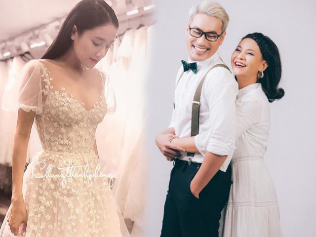 Đòi may váy cưới giống Nhã Phương, phải chăng Cát Phượng sắp kết hôn với Kiều Minh Tuấn?