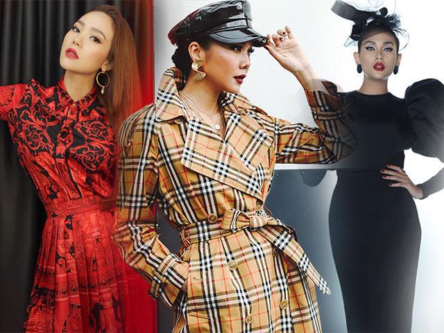 The Face ngày 1: Bộ trang phục đẹp và chất nhất thuộc về HLV Thanh Hằng