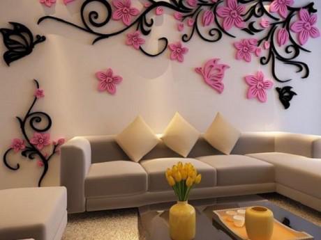 15 mẫu hình 3D tuyệt đẹp cho tường nhà, đảm bảo nhìn một lần là mê