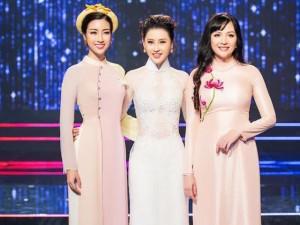 Á hậu Thái Như Ngọc khoe sắc bên Hoa hậu Mỹ Linh và Hoa hậu Thiên Nga