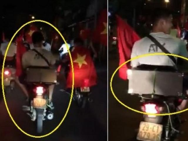 Fan Hà Nội chở chị Google đi bão sau chiến thắng ngoạn mục của Olympic Việt Nam