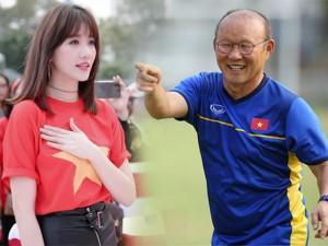 """Hari Won tự hào nhất về """"đồng hương"""" Park Hang Seo sau chiến thắng lịch sử của Việt Nam"""