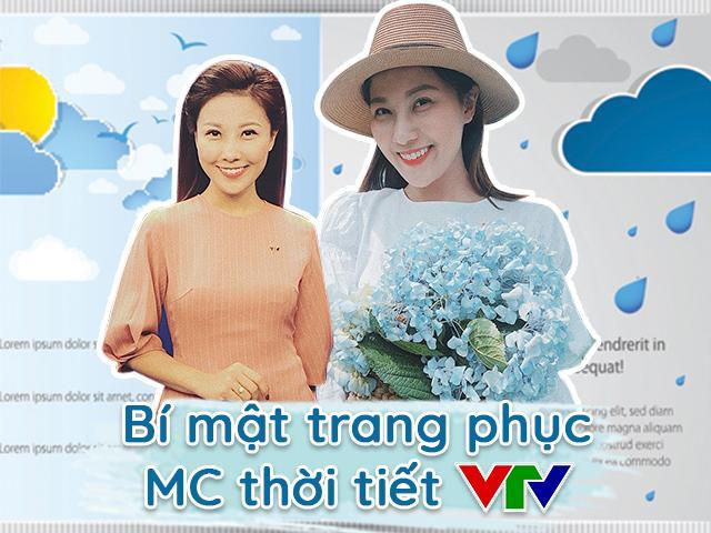MC thời tiết VTV tiết lộ bí mật ít ai biết khi chọn trang phục lên sóng bản tin