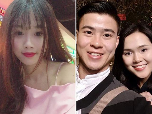 Dàn bạn gái toàn người nổi tiếng, xinh như hot girl của các cầu thủ Olympic Việt Nam