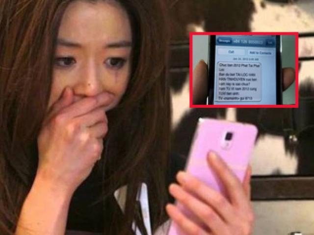 Đọc tin nhắn quảng cáo trong máy chồng, vợ sững sờ phát hiện ám hiệu lạ của bồ nhí
