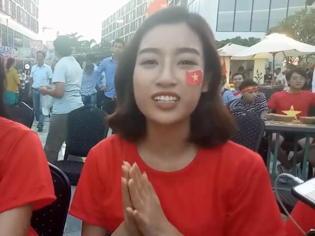 Đỗ Mỹ Linh chia buồn với U23 Việt Nam nhưng lại lơ đẹp Bùi Tiến Dũng