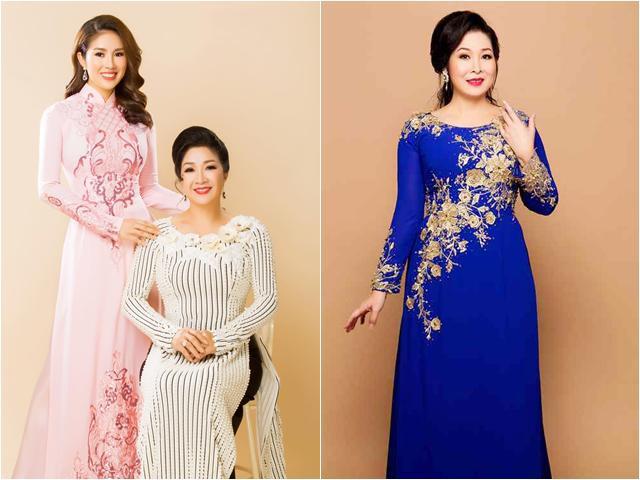 Mẹ trẻ đẹp của Lê Phương gây chú ý, NSND Hồng Vân tự nhận giống mình
