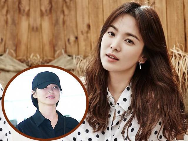 Hậu lấy chồng, Song Hye Kyo xuất hiện cá tính với mái tóc ngắn kỷ lục!