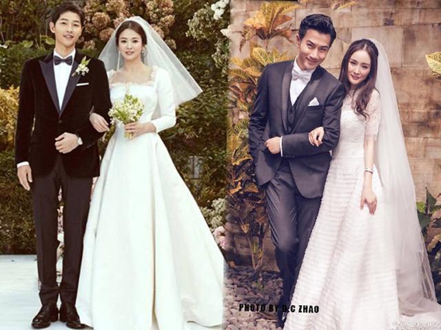 Cuộc đua váy cưới của người đẹp châu Á: chốt hạ, sao Trung chịu chi nhất với giá 900 tỷ