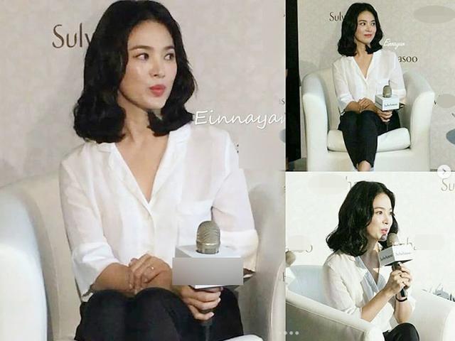 Ngôi sao 24/7: Trong chớp mắt, Song Hye Kyo biến hóa khôn lường đẹp dịu dàng nữ tính