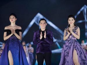 """Thí sinh Hoa hậu Việt Nam so tài phong cách trong đêm diễn """"Người đẹp thời trang"""""""