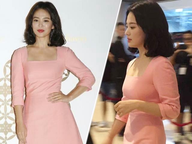 Song Hye Kyo bị nhiếp ảnh dìm hàng, ảnh do fan chụp đẹp như nữ thần