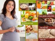 Chuyên gia tư vấn chế độ ăn cho bà bầu
