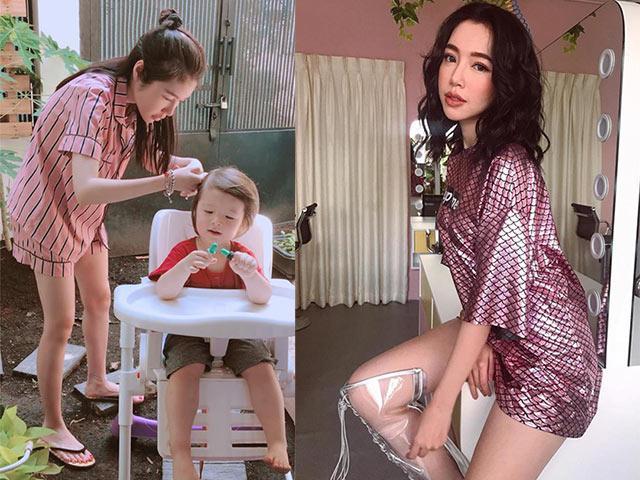 Ở nhà chăm con, Thu Minh, Ốc Thanh Vân như sen nhưng Hà Hồ, Hà Tăng thì khác hẳn