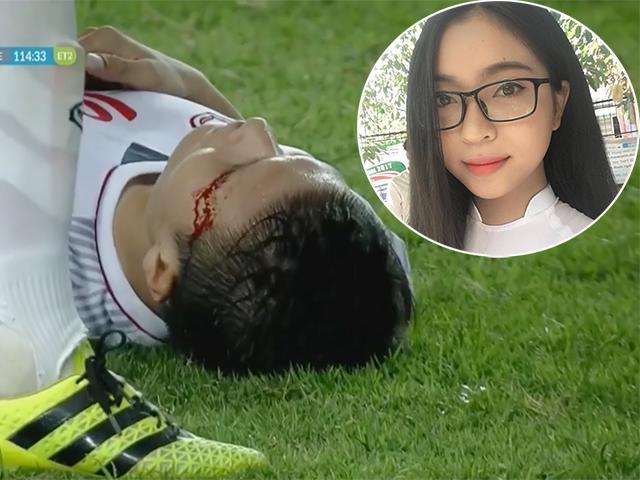 Quang Hải U23 VN sút hỏng penalty bị ném đá: Bạn gái Nhật Lê nói gì?