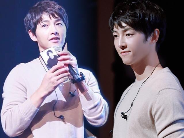 Lấy Song Hye Kyo rồi, U40 như Song Joong Ki vẫn đẹp trai như một chàng thiếu niên mới lớn