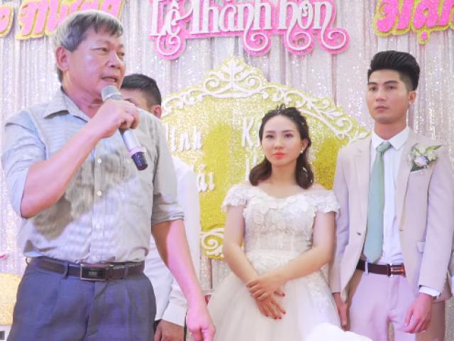 Bác nhà người ta: Phát biểu đám cưới thôi cũng khiến cả hội trường... ngẩn ngơ