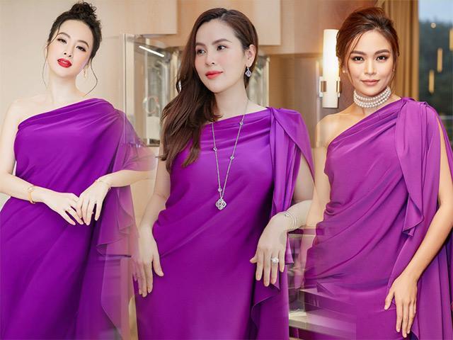 Hoa hậu 3 con không kém cạnh Angela Phương Trinh, Mâu Thuỷ khi đụng váy