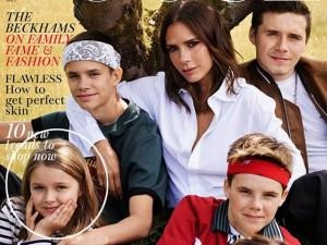 Ngôi sao 24/7: Gia đình Beck-Vic cùng lên tạp chí nhưng thần thái của Harper mới gây chú ý