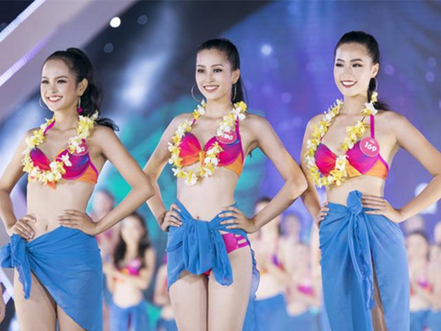 Ngắm không rời mắt 3 mỹ nữ có thân hình nuột nà nhất Hoa hậu Việt Nam 2018