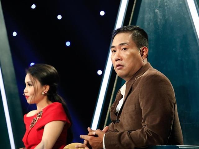 Lần đầu tiên, chồng Cẩm Ly rưng rưng nước mắt trên sóng truyền hình