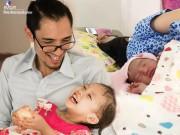 Bố đơn thân Trình Tuấn bất ngờ có con thứ 2, đang tất tả chăm vợ đẻ ở Từ Dũ