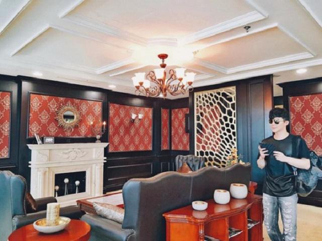 Bất ngờ với căn hộ xa hoa như cung điện ở 2 miền của nam ca sĩ Nathan Lee