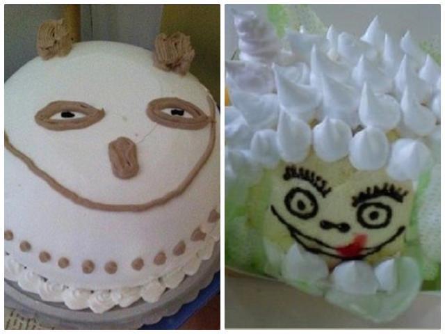 Những chiếc bánh sinh nhật xấu đau đớn khiến chủ nhân sốc đến mức nến cũng không buồn thổi