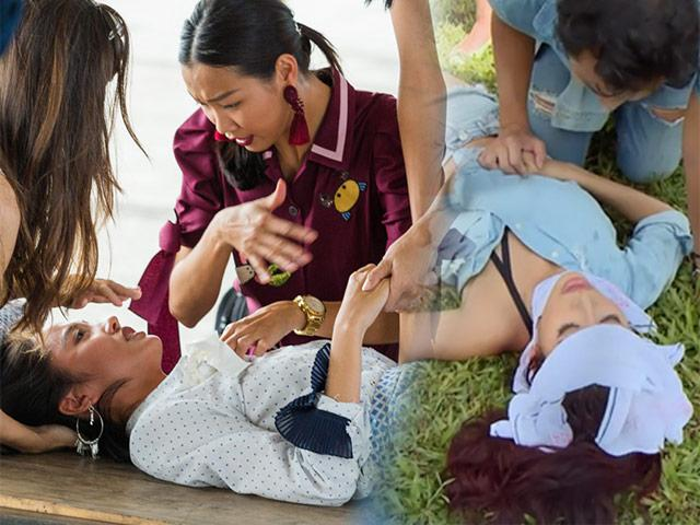 Asias Next Top Model 2018: Thanh Vy ngất xỉu và thăng hạng giống hệt Minh Tú