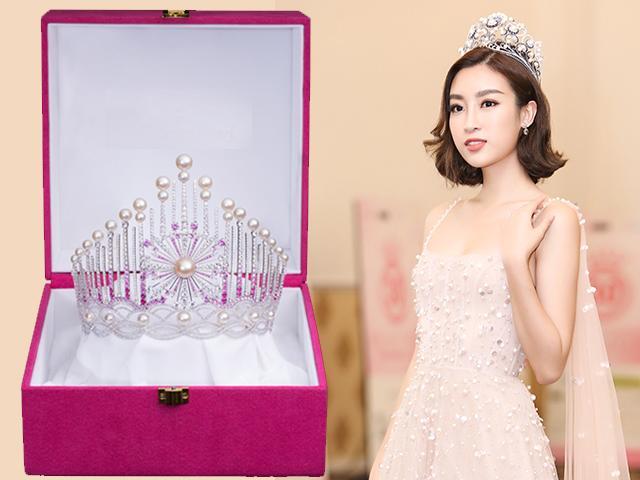 Lộ diện chiếc vương miện danh giá của Tân Hoa hậu Việt Nam 2018