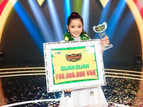 Tiểu hoa khôi 11 tuổi khiến Ốc Thanh Vân - Đại Nghĩa nể phục đoạt ngôi Quán quân