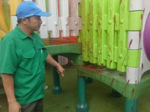 Trường mầm non bị kẻ lạ ném mắm tôm, sơn bẩn trước giờ khai giảng năm học mới