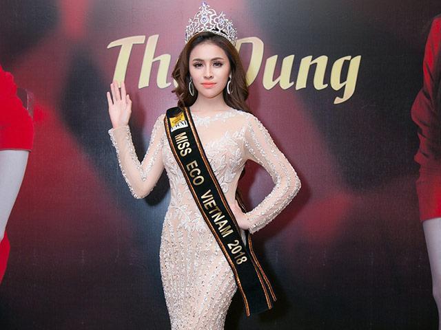 Thư Dung tiếp tục bị BTC tước danh hiệu Á hậu 2 Miss Eco International 2018