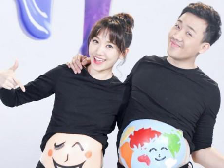 Hari Won chưa mang thai, Trấn Thành đã đóng phim về vợ bầu